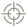 Gun sight icon